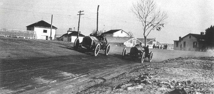 Pierwsze wyścigi samochodowe 94