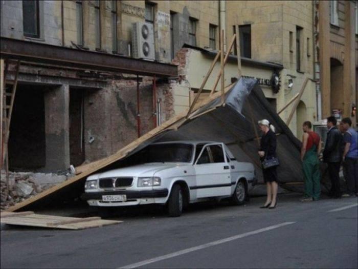 Nietypowe wypadki samochodowe #2 9