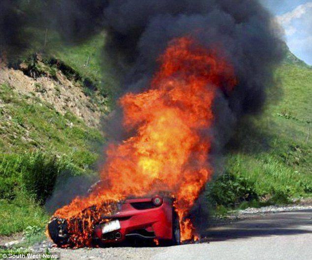 Wypadki najdroższych samochodów 4
