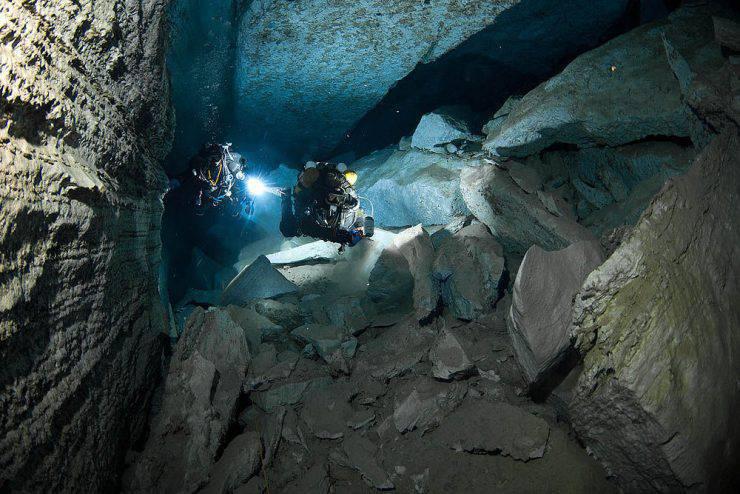 Eksploracja jaskini Orda 35