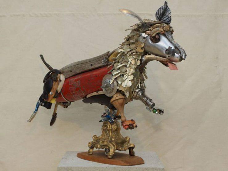Metalowe rzeźby 10