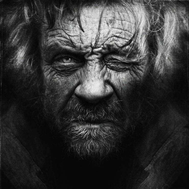 Niezwykłe zdjęcia bezdomnych. 12