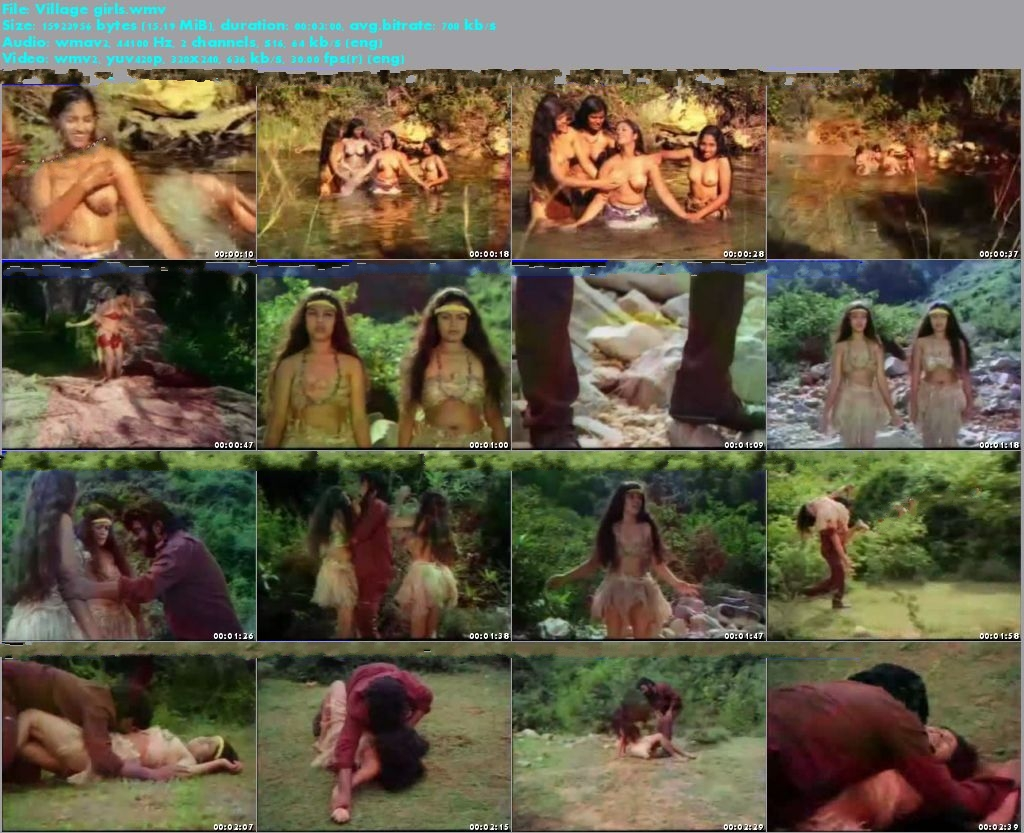 Village Girls Group Bathing In River Fully Nude Body With Big Boob S