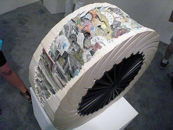 Rzeźby z książek. 7