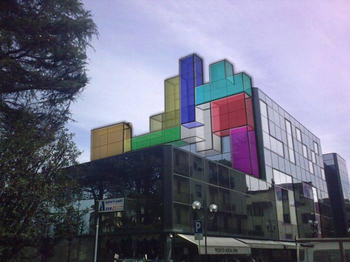 Tetris inspiruje 9