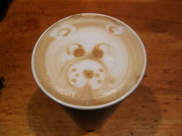 Coffee art - rysowanie na kawie 41