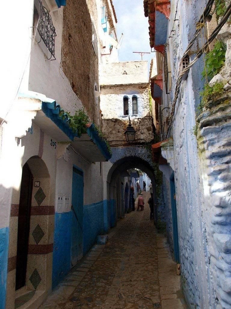 Shefshauen - niebieskie miasto 6