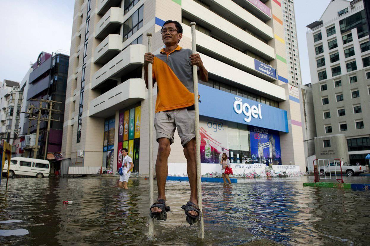Miasta w czasie powodzi 44