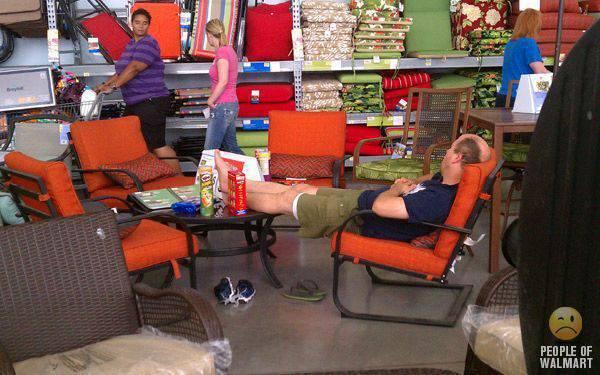 Najdziwniejsi klienci z WalMart #14 3
