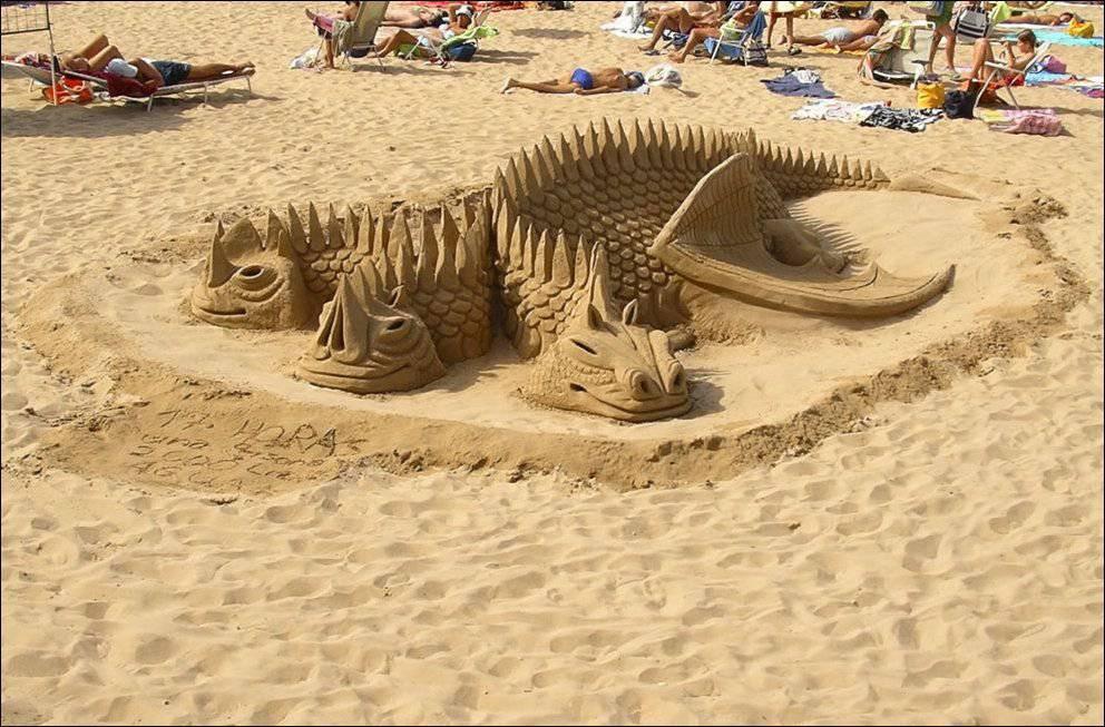 Rzeźby z piasku #5 2