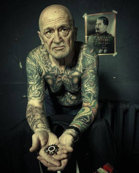 Starość z tatuażem 9