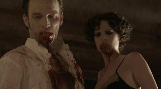 Bill et Lorena les vampires , du temps où ils formaient un couple sanguinaire / True Blood Saison 2 - Episode 6 - 010