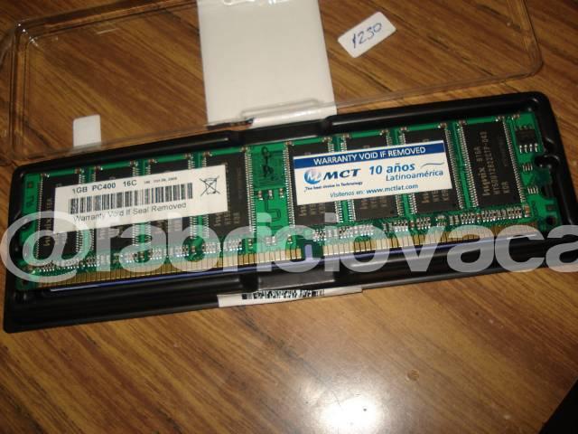 Cambio de Memoria RAM DDR - PC tonomac vieja