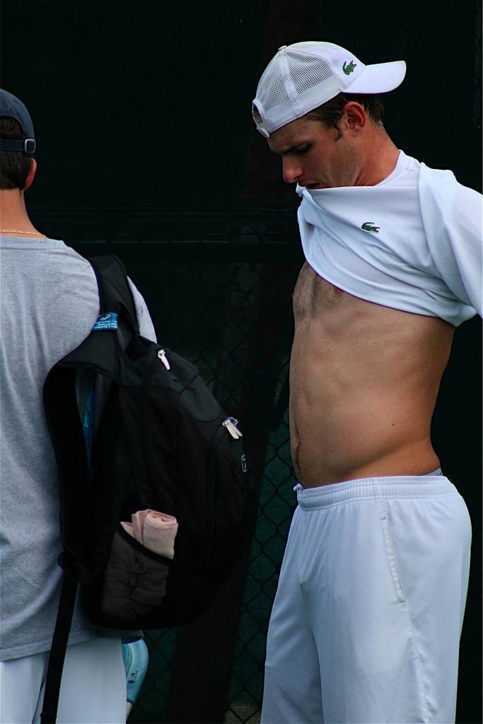 Seguro que te acuerdas de su cuerpazo: es Andy Roddick