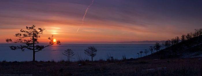 Zamarznięte jezioro Bajkał 5