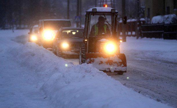 Kierowcy kontra zima 2