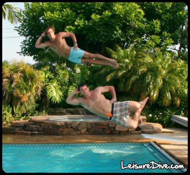 Zabawne zdjęcia przy skokach do basenu 18