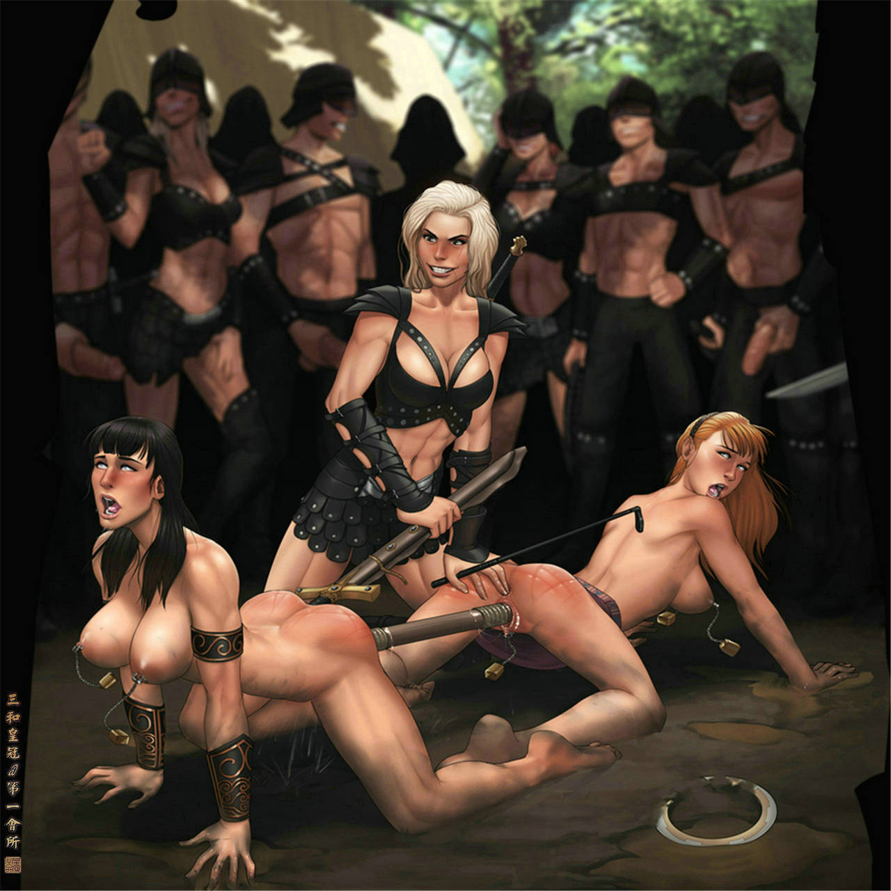 Naked 3d xena warrior princess picture naked comics