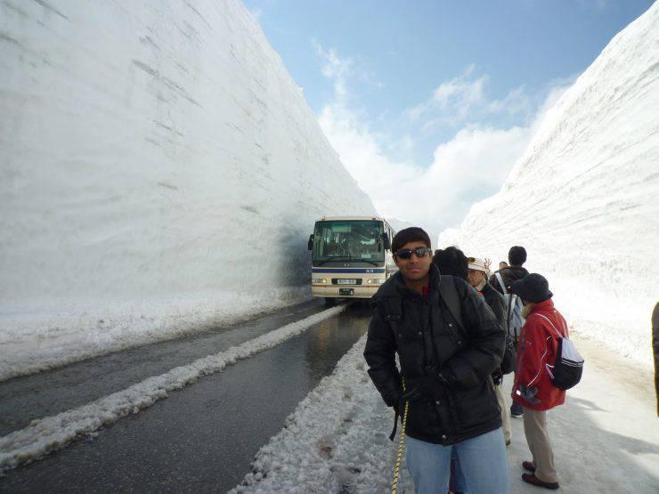 Jak się odśnieża drogi w Japonii 6