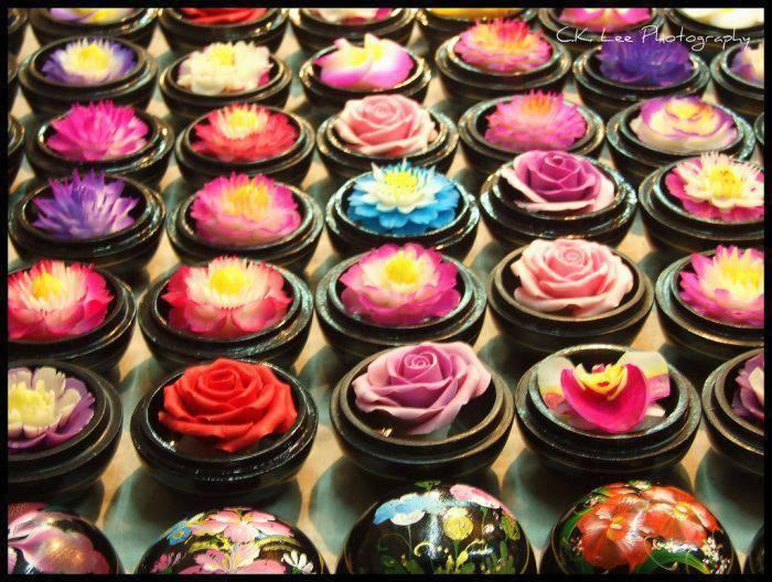 Kwiaty z mydła 3