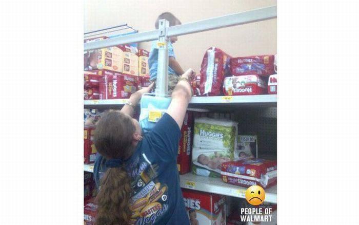 Najgorsi rodzice kupują w WalMart 1