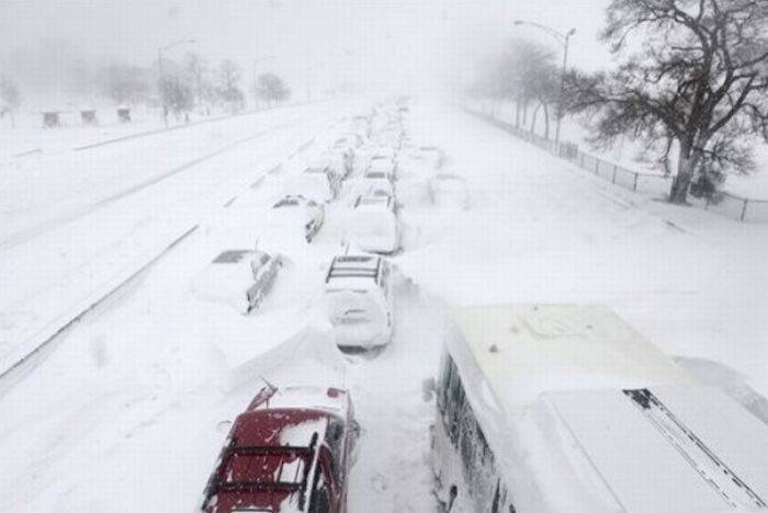 Atak zimy w USA 6