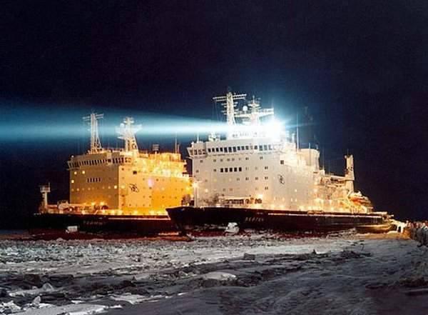 Arktyczna podróż atomowym lodołamaczem 9