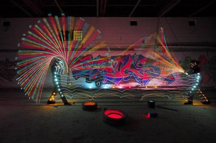 Świetlne graffiti #2 5