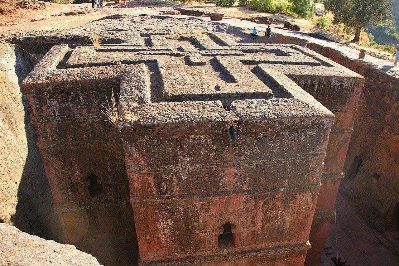 Kościoły skalne w Lalibeli 6