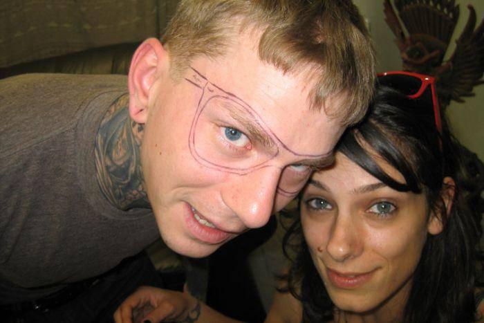 Tatuaż na twarzy 10