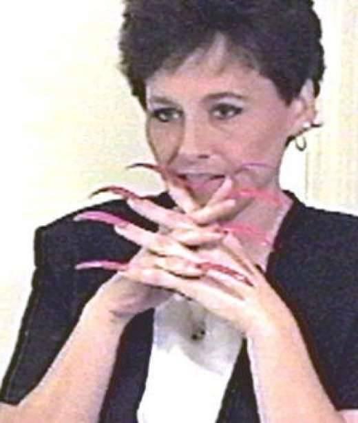 Najdłuższe paznokcie 5