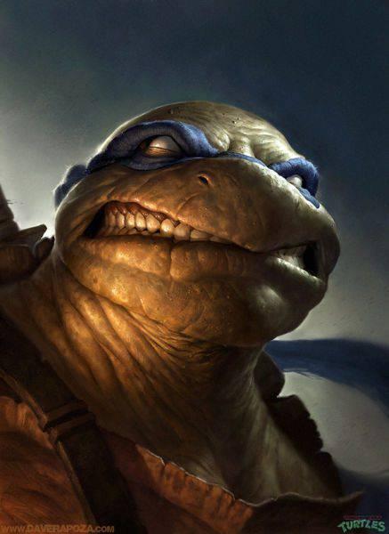Wojownicze Żółwie Ninja dla dorosłych 1