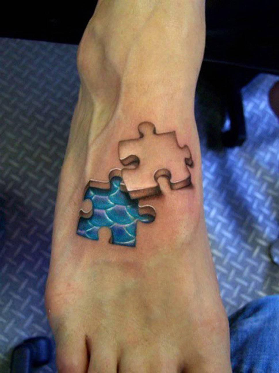 Realistyczne tatuaże #5 13