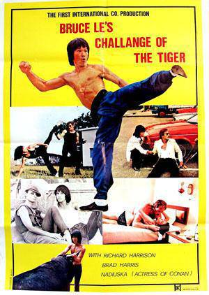 [Italy | USA | Hong Kong | 18+ ] Dragon Bruce Le / Challenge of the Tiger (1980)