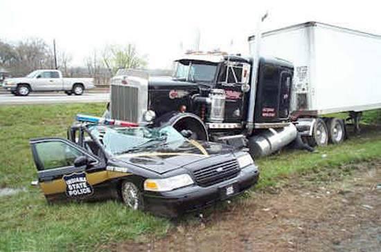 Wypadki ciężarówek 9