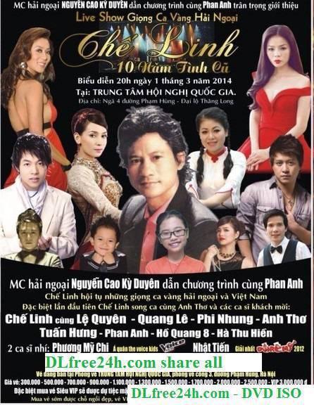 LiveShow Chế Linh in Việt Nam Mười Năm Tình Cũ DVD5