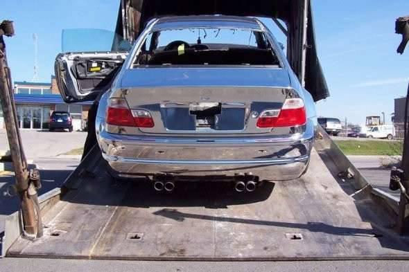 Chromowane BMW M3 2