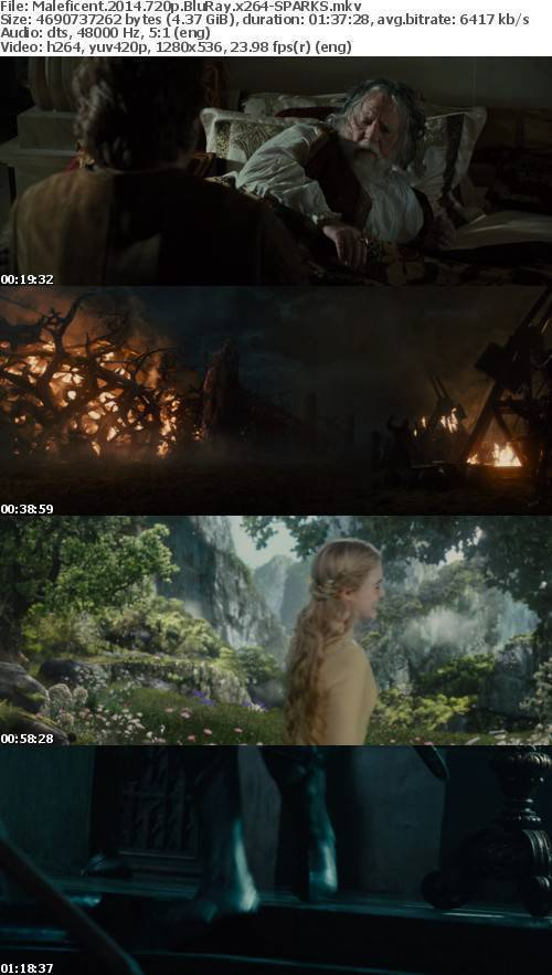 Maleficent 2014 720p BluRay x264-SPARKS
