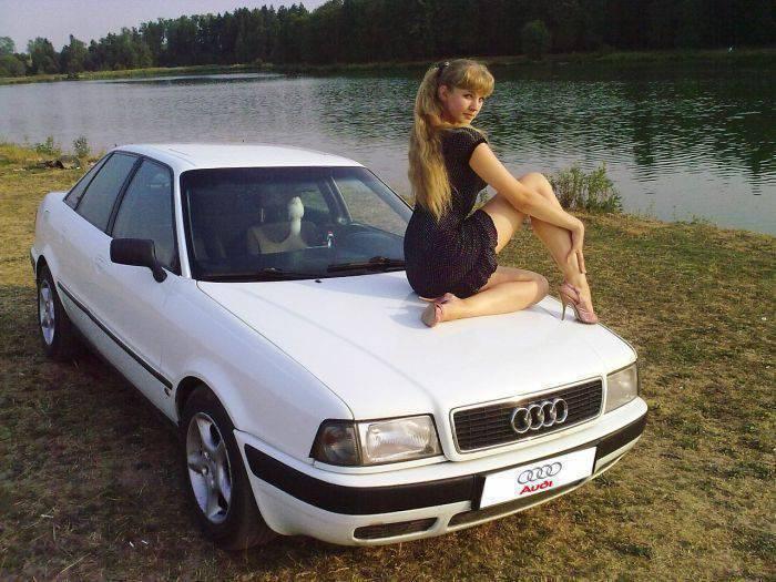 Rosjanki i samochody 11