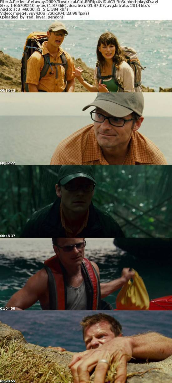 A Perfect Getaway 2009 Theatrical Cut BRRip XviD AC3 RoSubbed-playXD