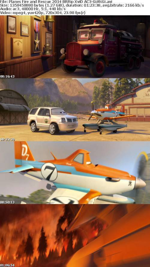 Planes Fire and Rescue 2014 BRRip XviD AC3-GiANGi