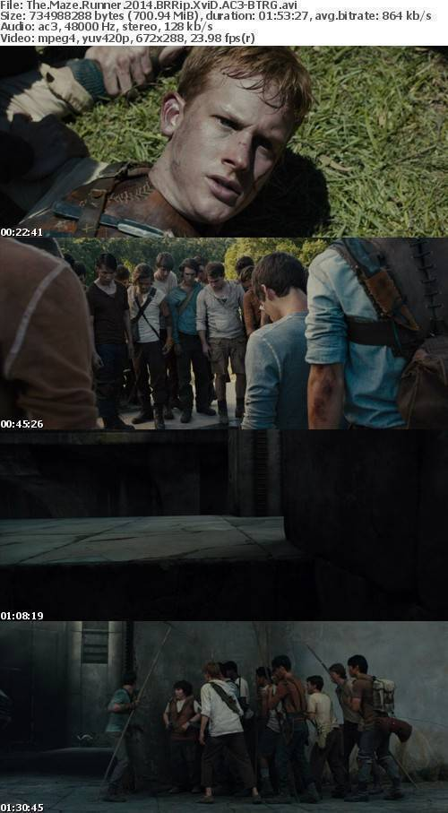 The Maze Runner 2014 BRRip XviD AC3 - BTRG