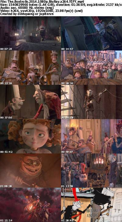 The Boxtrolls (2014) 1080p BluRay x264-YIFY
