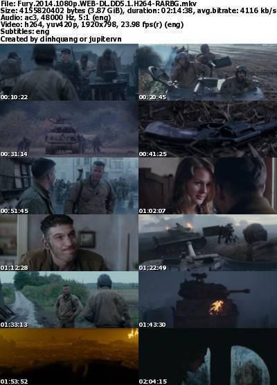 Fury (2014) 1080p WEB-DL DD5.1 H264-RARBG