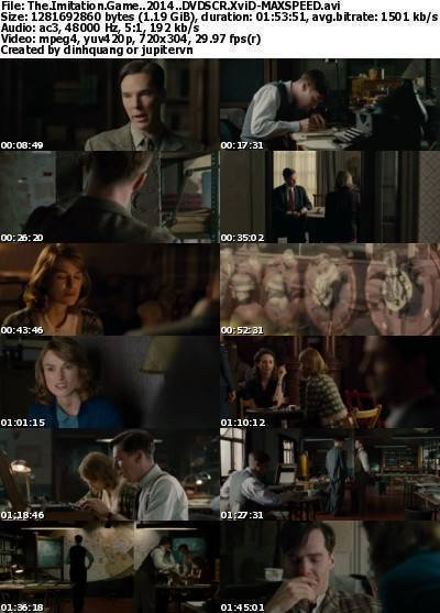The Imitation Game (2014) DVDSCR XviD-MAXSPEED