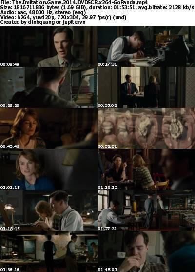 The Imitation Game (2014) DVDSCR x264-GoPanda