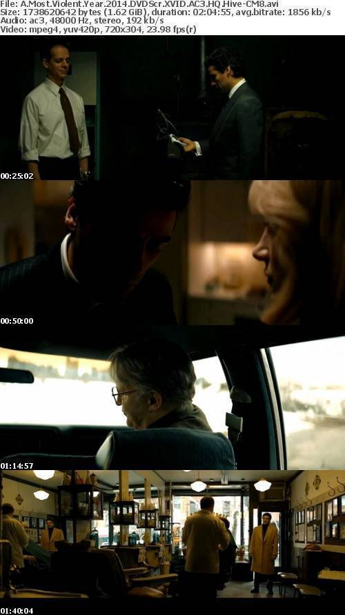 A Most Violent Year 2014 DVDScr XVID AC3 Hive-CM8