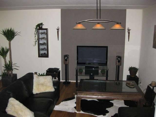 Ideeen Kleuren Muur : Re: Muur achter TV donkerder maken? (foto`s van ...
