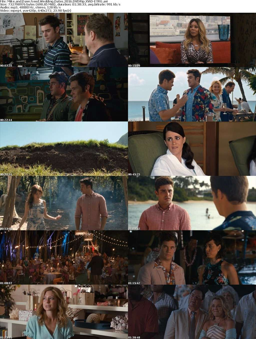 Mike And Dave Need Wedding Dates 2016 DVDRip XViD-ETRG