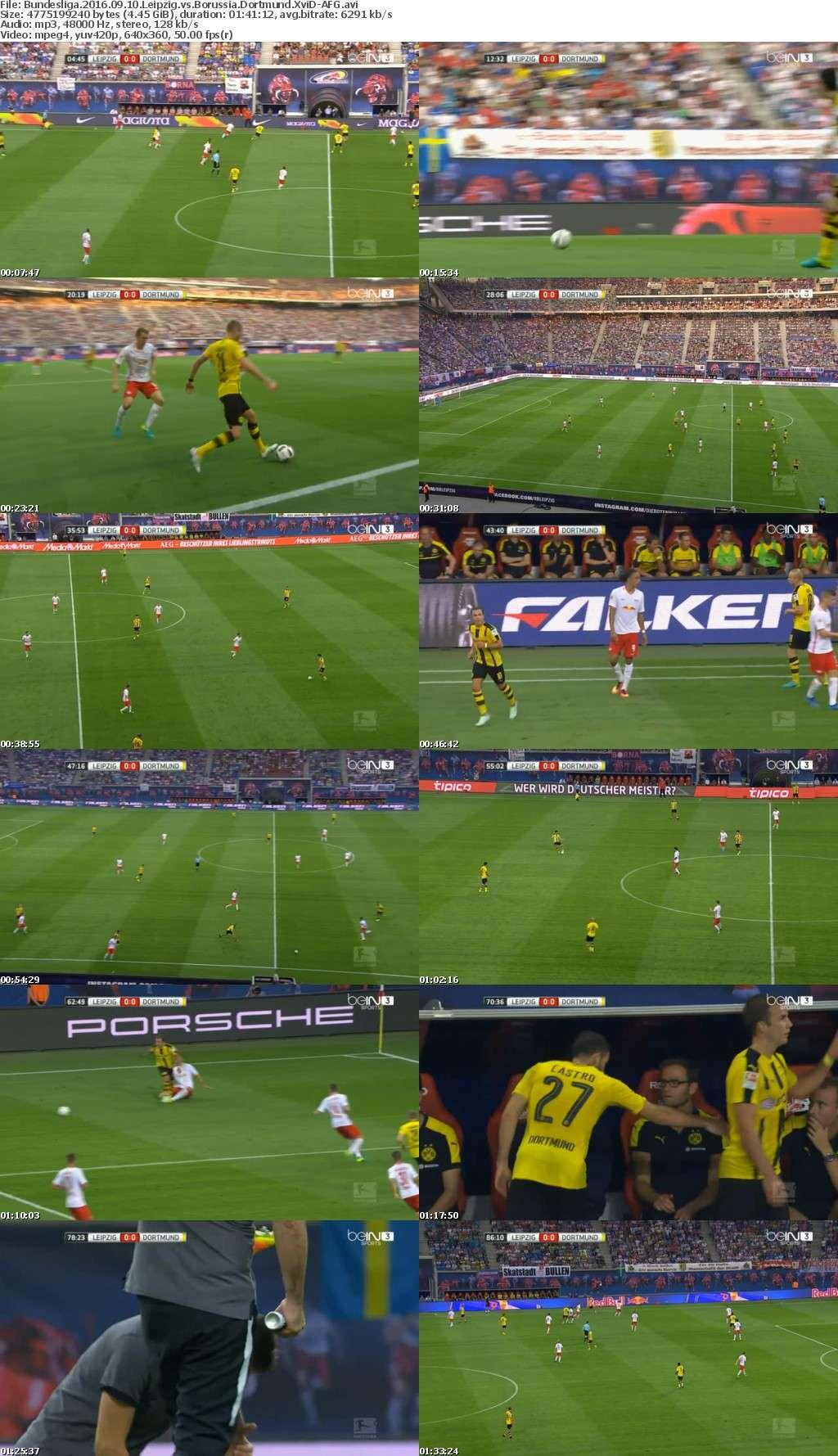 Bundesliga 2016 09 10 Leipzig vs Borussia Dortmund XviD-AFG